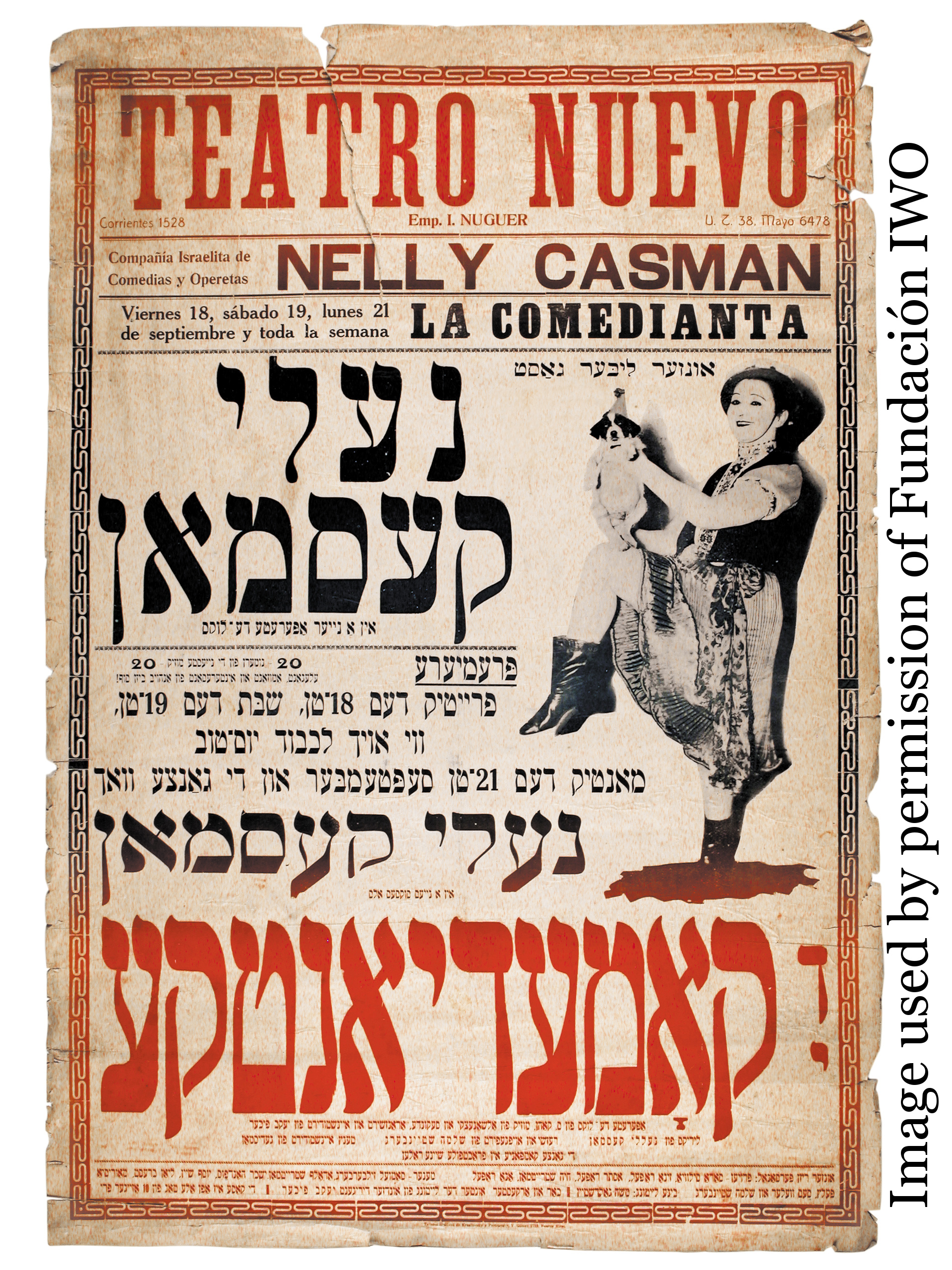 Yiddish Theater image